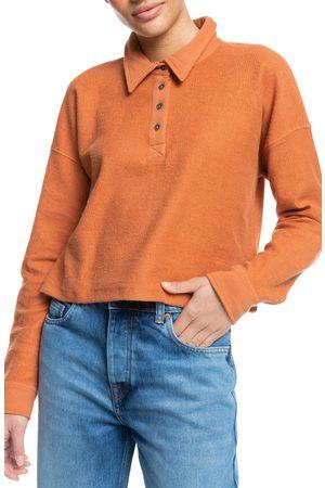 Roxy Women's All Day Every Day Organic Cotton Fleece Polo