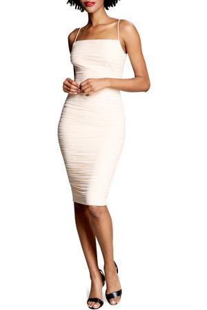 Dress The Population Women's Dylan Ruched Body-Con Minidress