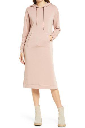 Steve Madden Women Long sleeves - Women's Bodega Babe Long Sleeve Hoodie Dress
