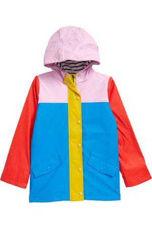 Boden Girls Rainwear - Toddler Girl's Kids' Colorblock Rain Jacket