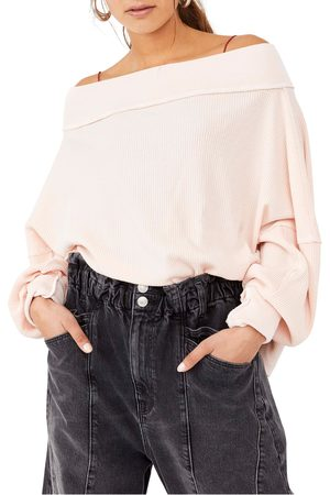 Free People Women's Close To You Off The Shoulder Pullover