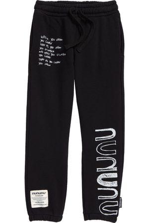 Nununu Sweatpants - Toddler Kids' Growth Cotton Graphic Sweatpants