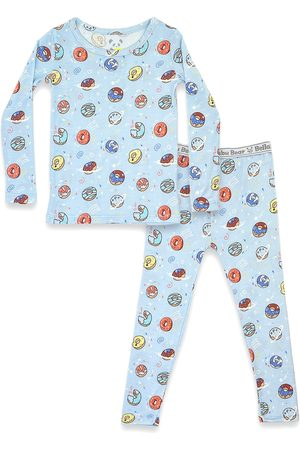 Bellabu Bear Toddler Boy's Donut Two-Piece Fitted Pajamas