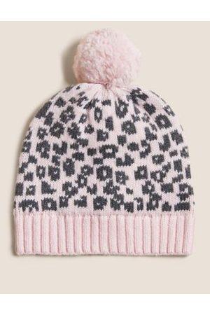 Kids' Leopard Winter Hat (0-12 Mths)