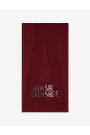ARMANI EXCHANGE Scarf Bordeaux Cotton