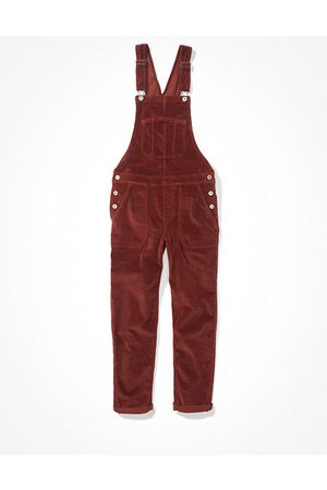 American Eagle Outfitters Stretch Corduroy Tomgirl Overall Women's XXL