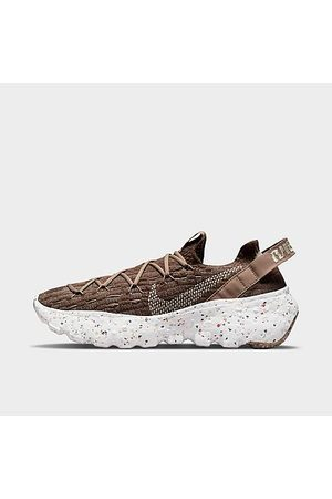 Nike Women's Space Hippie 04 Casual Shoes in Brown/Sand Size 11.0 Polyester/Plastic