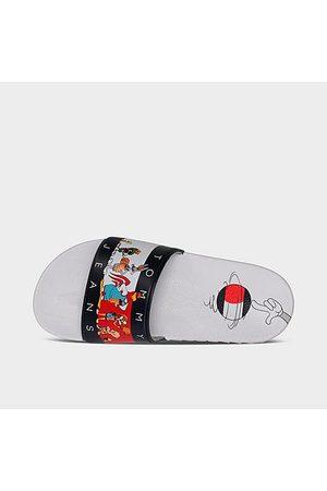 Tommy Hilfiger Little Kids' X Space Jam Looney Tunes™ Cast Slide Sandals in / Size 1.0
