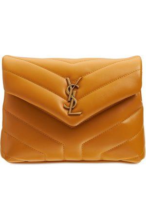Saint Laurent Women Shoulder Bags - Toy Loulou Leather Monogram Bag