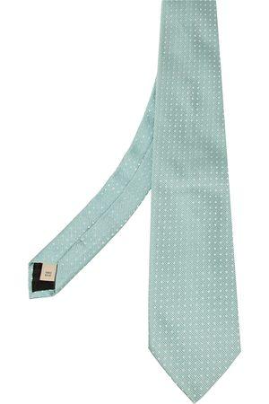 Burberry Pale Jacquard Silk Tie