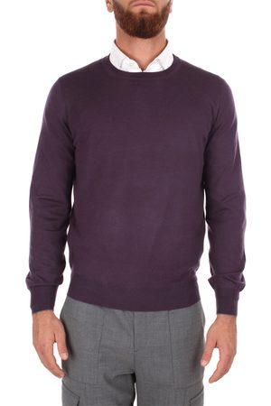 Brunello Cucinelli Men Necklaces - Choker Men Violet Lana/cashmere
