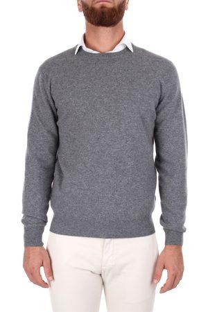 Mauro Ottaviani Choker Men Grey Cashmere