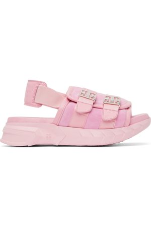 Givenchy Women Sandals - Pink Marshmallow Slingback Sandals