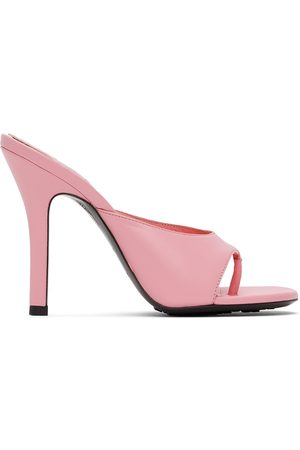 Givenchy Women Heeled Sandals - Pink Two Toes Heeled Sandals
