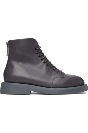 MARSÈLL Men Ankle Boots - Grey Gomme Gommello Ankle Boots