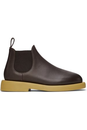 MARSÈLL Men Chelsea Boots - Brown Gomme Gommello Chelsea Boots