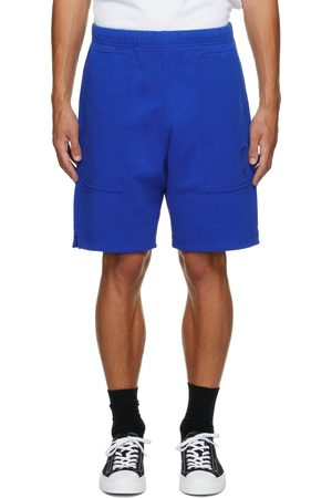 Ami Men Shorts - Blue Ami de Cœur Sweat Shorts