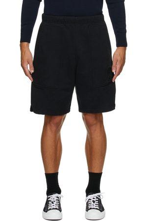 Ami Black Ami de Cœur Sweat Shorts