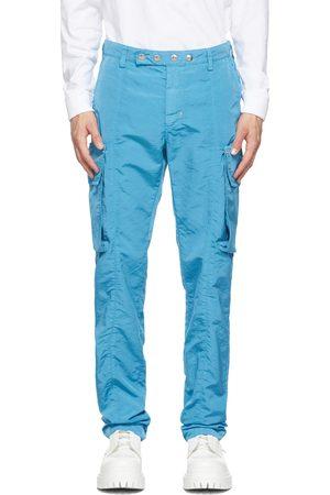 1017 ALYX 9SM Blue Garment-Dyed Cargo Pants