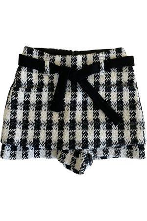 Maje Tweed mini skirt