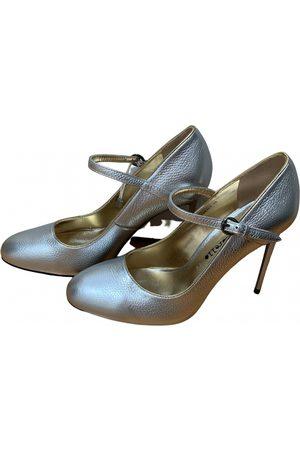 FRANKIE MORELLO Leather heels