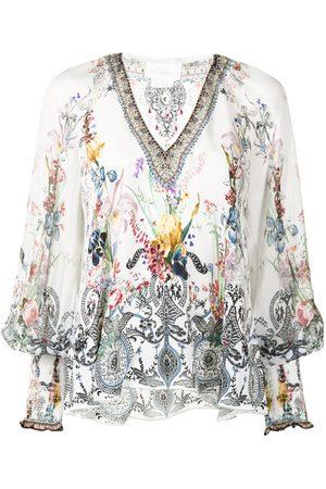 Camilla Women Blouses - Floral-print blouse