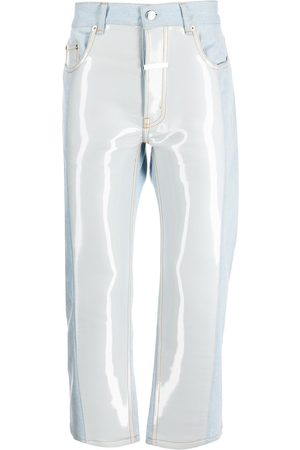 Zilver Water denim trousers