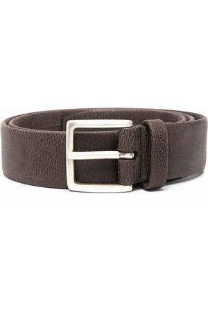 Orciani Men Belts - Grainy leather belt