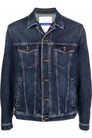 Jacob Cohen Men Denim Jackets - Slim-cut denim jacket