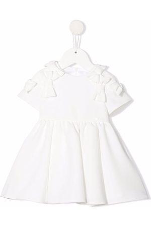 Elisabetta Franchi La Mia Bambina Baby Casual Dresses - Bow-detail dress