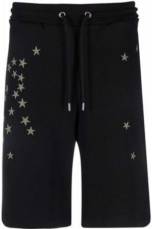 John Richmond Men Bermudas - Embroidered-star shorts