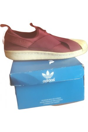 adidas Superstar low trainers