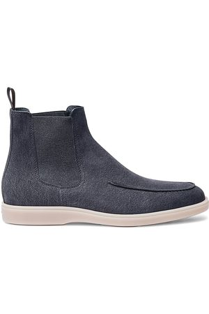 santoni Tumg80 Brushed Suede Chelsea Boots
