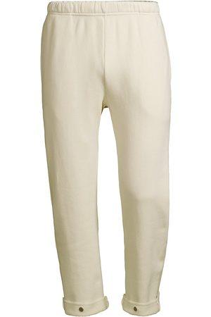 Les Tien Fleece Snap-Front Sweatpants