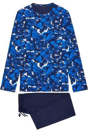 Hom 2-Piece Abstract Printed Pajama Set