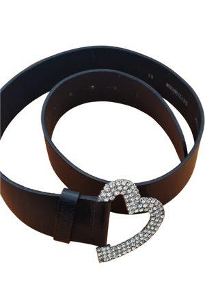 Moschino Women Belts - Leather belt