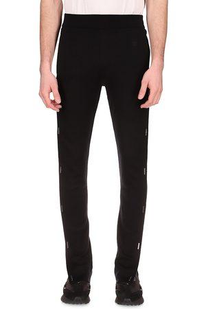 Givenchy Side-Snap Silk Pants