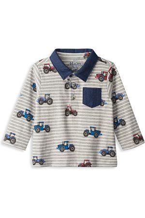 Hatley Baby Boy's Retro Tractors Polo Tee