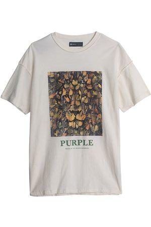 Purple Brand Lion In Ambush Graphic T-Shirt