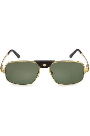 Cartier Santos de 60MM Pilot Sunglasses