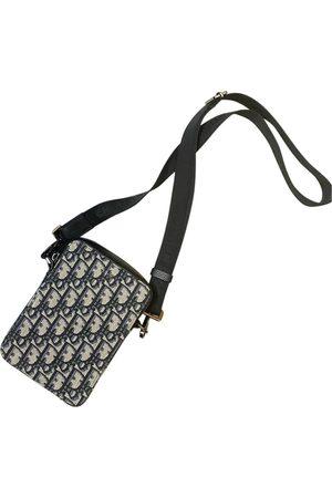Dior Men Travel Bags - Saddle Dior Oblique cloth weekend bag