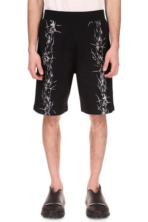Givenchy Barbed Wire Bermuda Shorts