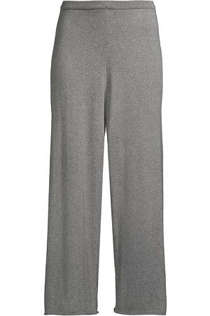 Eileen Fisher Pima Cotton Straight Pants