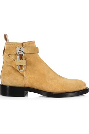 Givenchy Lock Leather Ankle Boot