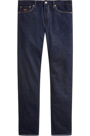 Ralph Lauren Logo-Embroidered Slim-Fit Jeans