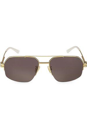 Bottega Veneta 57MM Square Sunglasses