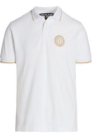 VERSACE V-Emblem Polo Shirt