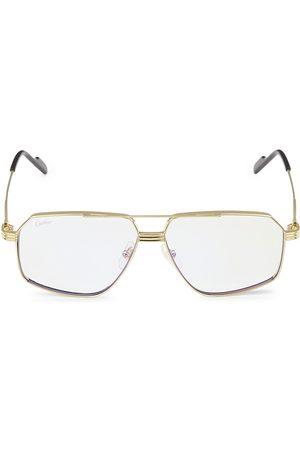 Cartier 58MM Rectangular Sunglasses