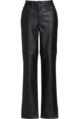 GOOD AMERICAN Good Boy Faux Leather Pants