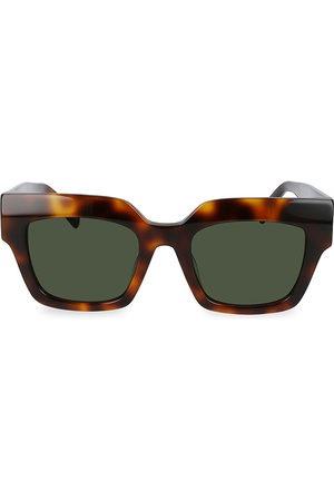 MCM Logo Plaque 51MM Square Sunglasses